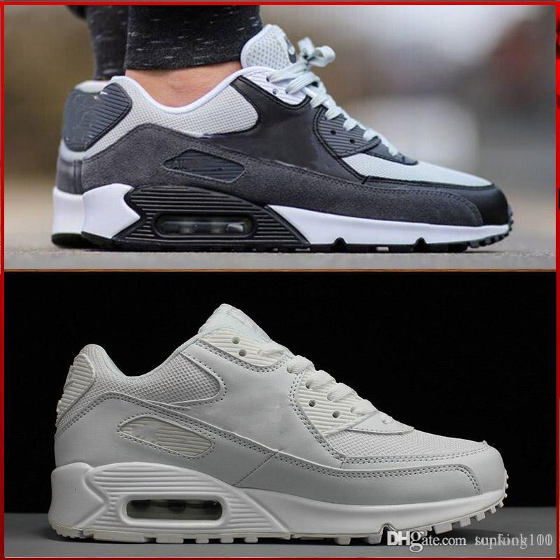 best website cf088 84b79 2019 2018 Fashion Air Cushion Thea 87 90 Casual Shoes For Men S Women  Outdoor Sports Sneakers Mans Lightweight Athletic Shoes Size Eur 36 45 From  Topfook101 ...