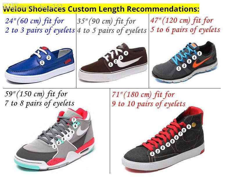 1 par Rodada Cordão Top Quality 3M reflexiva sapatos laços do carregador Laces Sneaker cadarço 19 Cores Comprimento 100 centímetros 120 centímetros 140 centímetros 160 centímetros