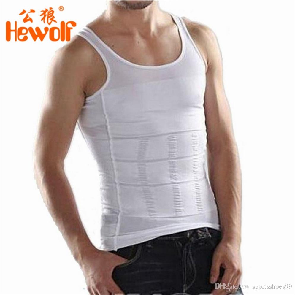 95cd92075c 2019 New Men Underwear Waist Girdle Shirt Corset Body Slimming Tummy Shaper  Vest Belly Waist Girdle Shirt Shapewear  179981 From Sportsshoes99