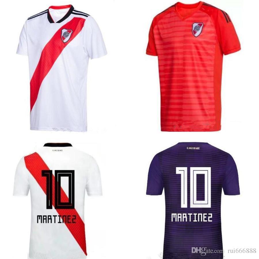 2019 River Plate Home White Soccer Jersey 18 19 Cauce Del Río River Plate  Home Soccer Shirt 2018 Personalizado Uniforme De Fútbol Ventas Por  Rui666888 83f593ecbf33f