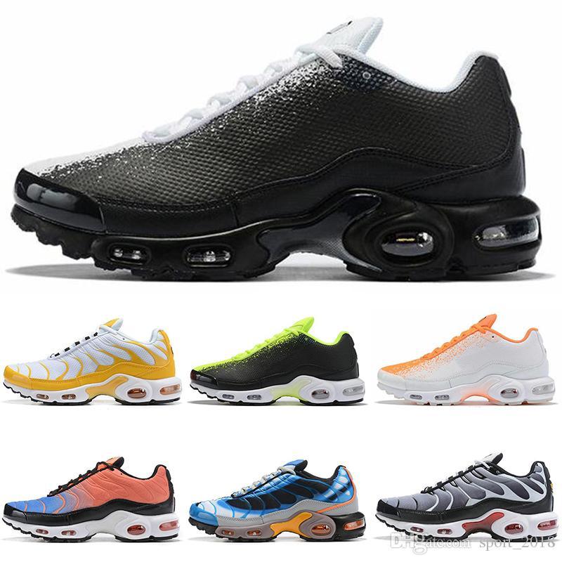Nike Air Max Plus TN SE 2019 Ultra Plus Running Shoes para hombre oro Atlético transpirable diseñador para hombre zapatillas deportivas zapatillas de
