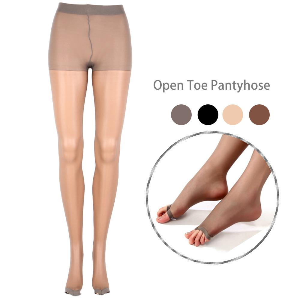 6d499b33b1b5d 2019 Women Sexy Pantyhose Fashion Spring Summer Nylon Tights Open Toe Sheer Ultra  Thin Seamless Pantyhose Stocking From Stepheen, $34.1 | DHgate.Com