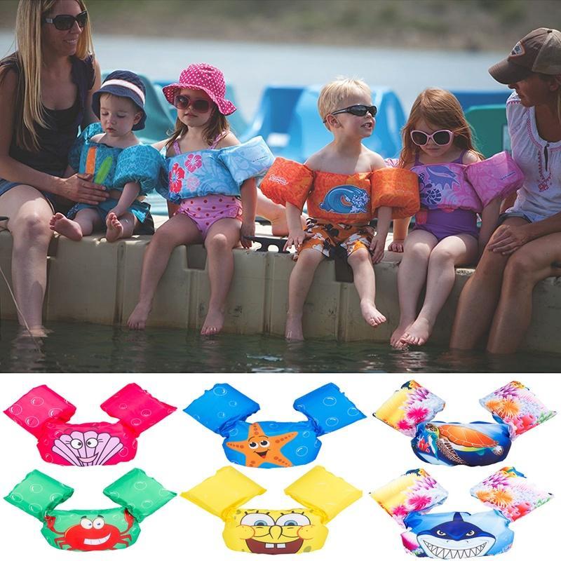 2dc3f792d9 Children's Life Jacket Swimming Lifesaving Equipment Buoyancy Swimsuit Vest  Children Snorkeling Suit Swimming Accessories