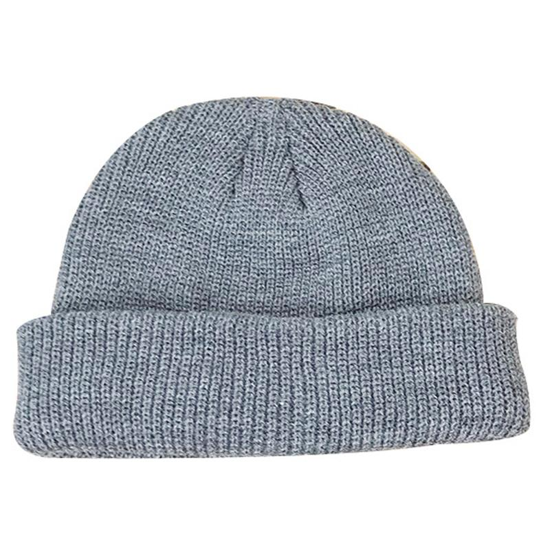 Fashion-Cold hat man winter warm cap Korean version of the street knitting wool cap melon leather hat outdoor tide hat wholesale