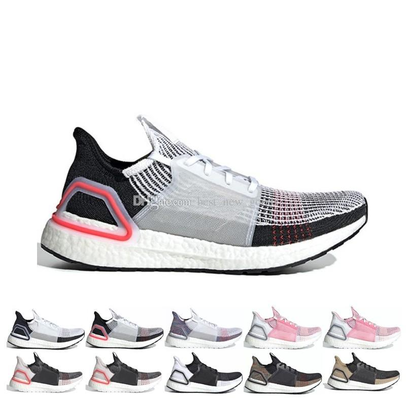 7965fa951fe62 2019 Ultra Boost 19 Men Women Running Shoes Ultraboost 5.0 Laser Red ...