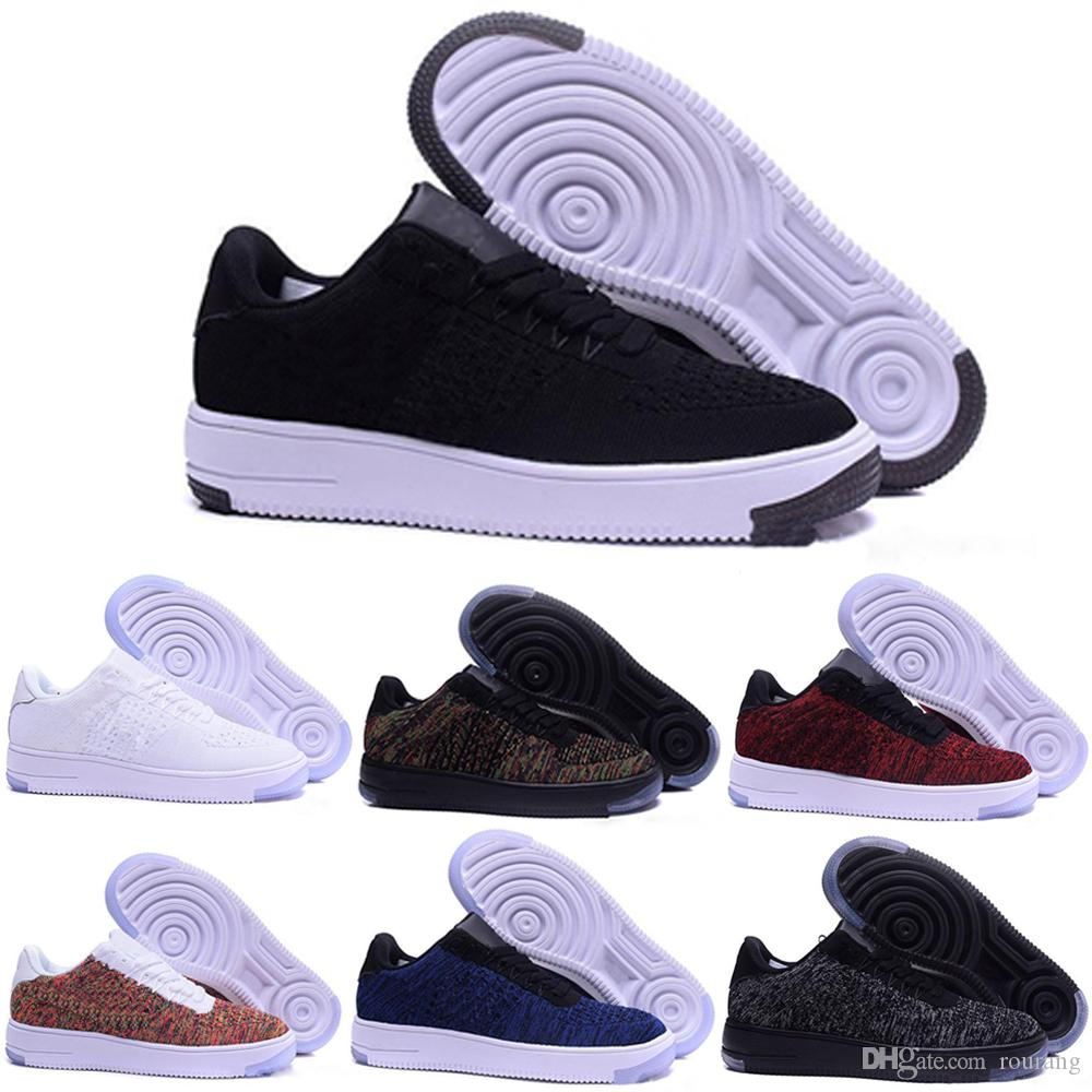 2017 Nike Air Force oen 1 flyknit one af1 flyknit 2018 Designer One 1 Dunk Herren Damen Flyline Laufschuhe Sport Skateboard Ones Schuhe High Low Cut