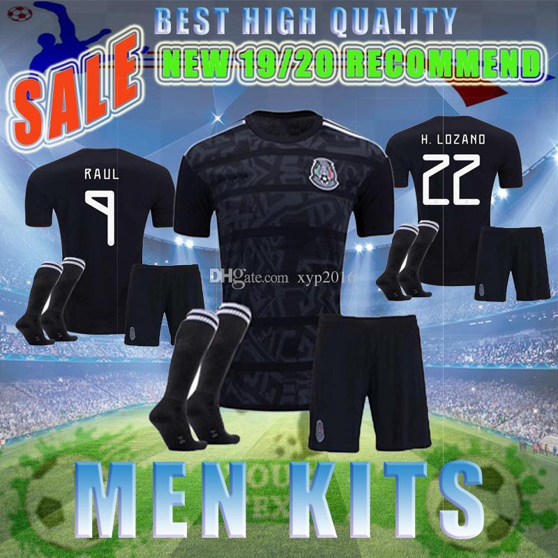 new concept 99418 14877 2019 Mexico soccer jersey Gold Cup 19 20 CHICHARITO LOZANO MARQUEZ HERRERA  GUARDADO national team MEN KIT football Suit