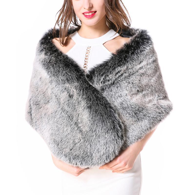 2b72e317e 2019 ZADORIN Luxury Women Faux Fur Coat Vintage Faux Fur Shawl Ladies Winter  Fourrure Poncho Cape Women Festival Futro Damskie From Grege, $49.57 |  DHgate.