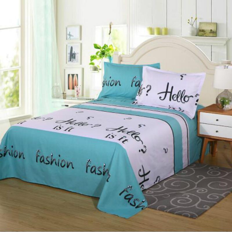 1 drap de lit item Draps de lit en coton