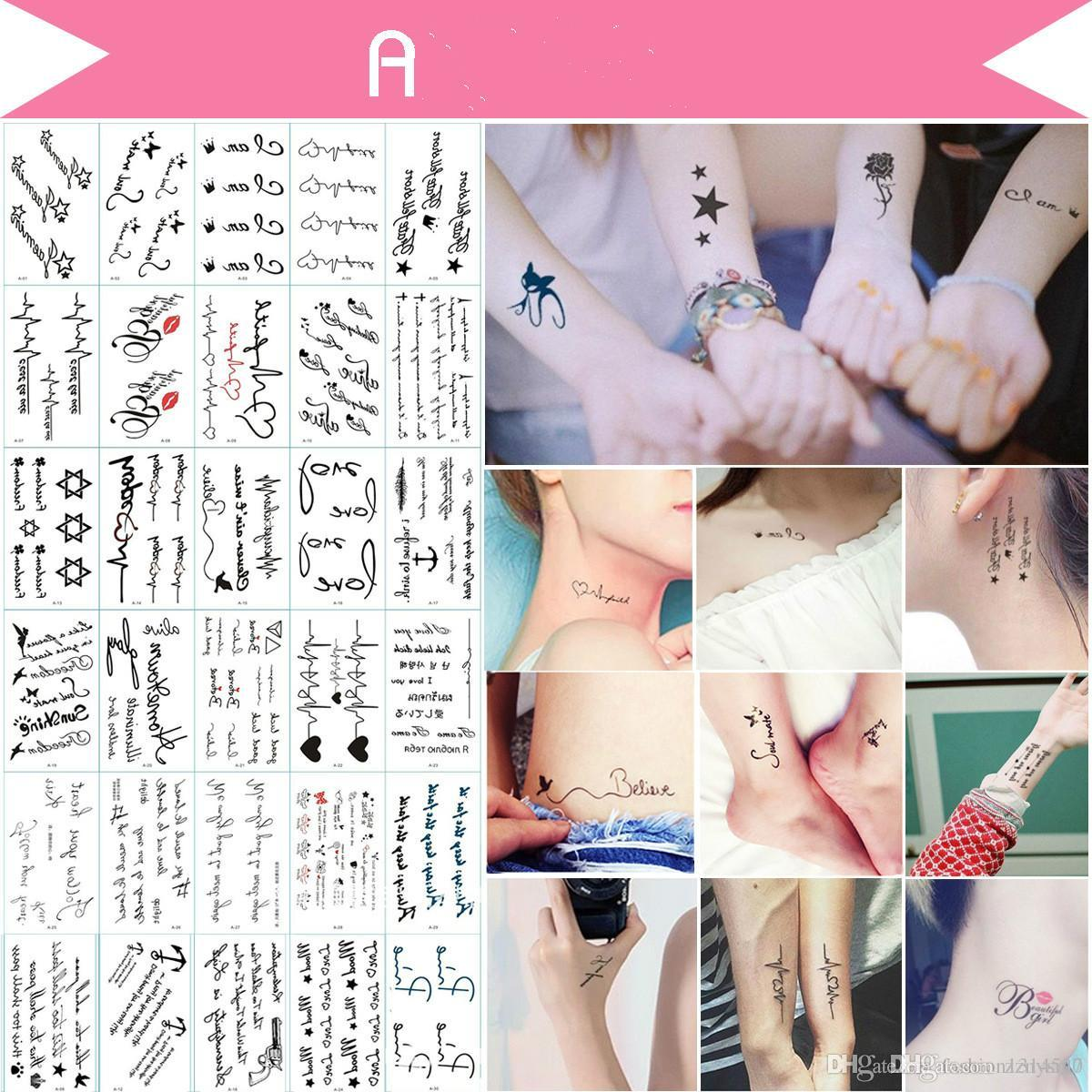 Flower Temporary Tattoos for Women Hand Tattoo Sticker Fashion Body Art  Waterproof Arm Fake Tatoo Paper 9 8X6cm