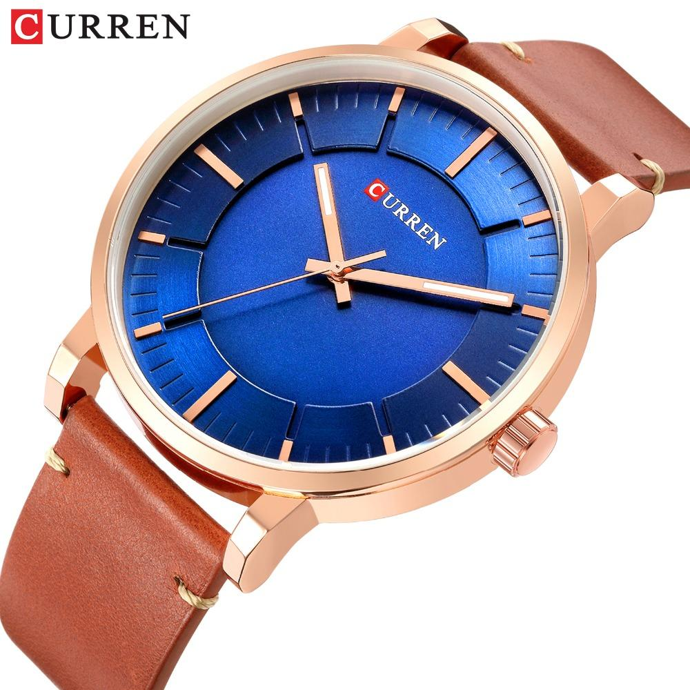 d48e615257e Men Watch Fashion Slim Leather Strap Minimalist Wrist Watches Mens  Waterproof Business Quartz Watch Clock Relogio Masculino Watches Deal  Wristwatch From ...