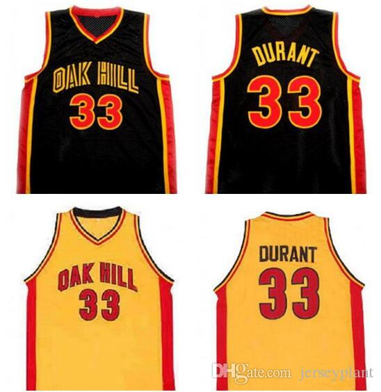 1ec35f7dd 2019 Mens Kevin DURANT  33 Oak Hill High School Basketball Jersey 100% Stitched  Kevin DURANT College Basketball Jersey S XXXL From Jerseyplant