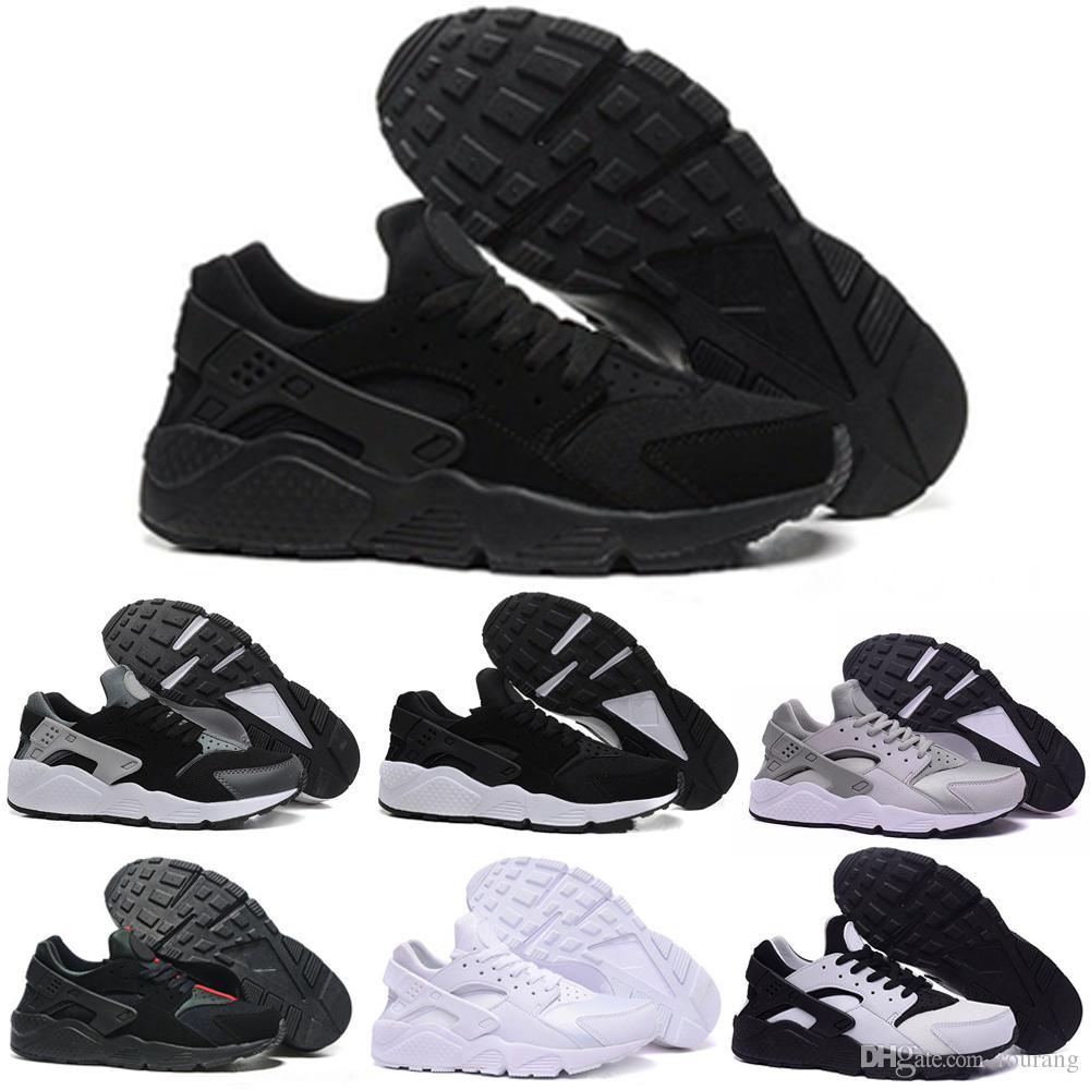 Baskets Triple Pour 4 Black Huraches Running Chaussures Shoes Hurache White Nike Air Course Max De 0 Hommes Huarache Ultra 35LRj4Aq