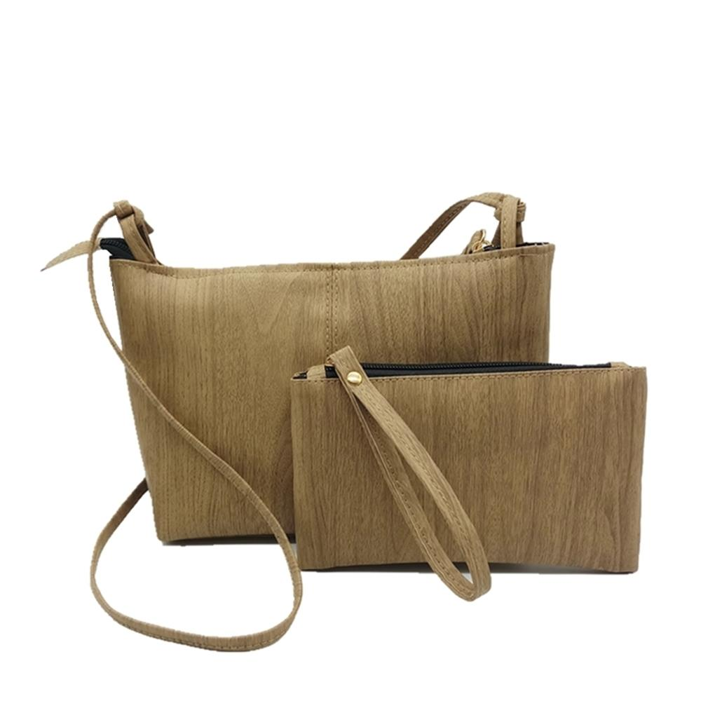 Cheap 2019 New Wood Pattern Composite Bag Sets Women Messenger + Small  Purses Pu Leather Handbags Crossbody Girl Shoulder Bag Mens Bags Messenger  Bags For ... bb4585d305d9c