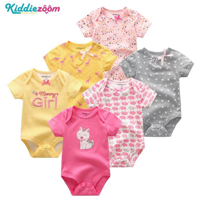 c47ae2a23c5bc 2019 Newborn Girl Cotton 0 12m Bodysuit Bebe Swimsuit Summer Baby ...