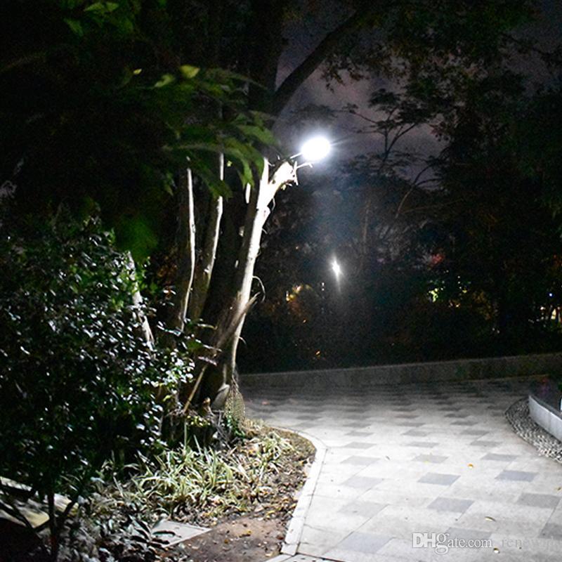 70 Télécommande Étanche Lampe Solar Capteur Avec Mouvement Cinq Modes Radar De Led Upgarded Travail Jardin Light EHD29IW
