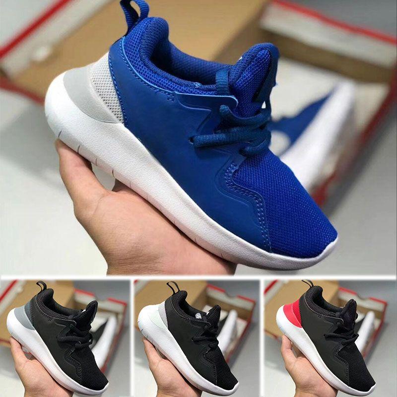 new style 8040b 795c4 Acheter Nike Roshe Run Gros Run Enfants Hommes Femmes Run Chaussures London  Olympic Ros Noir Rouge Blanc Gris Bleu En Plein Air Marche Sneakers  Chaussures ...