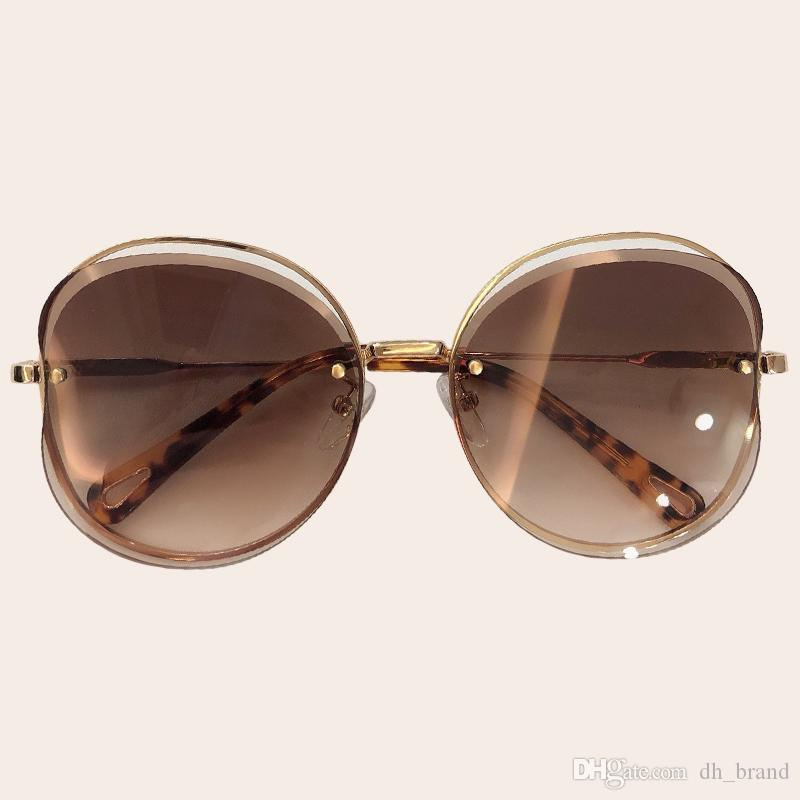 321e68477654 2019 Vintage Butterfly Sunglasses Women New Style Metal Frame Oval ...