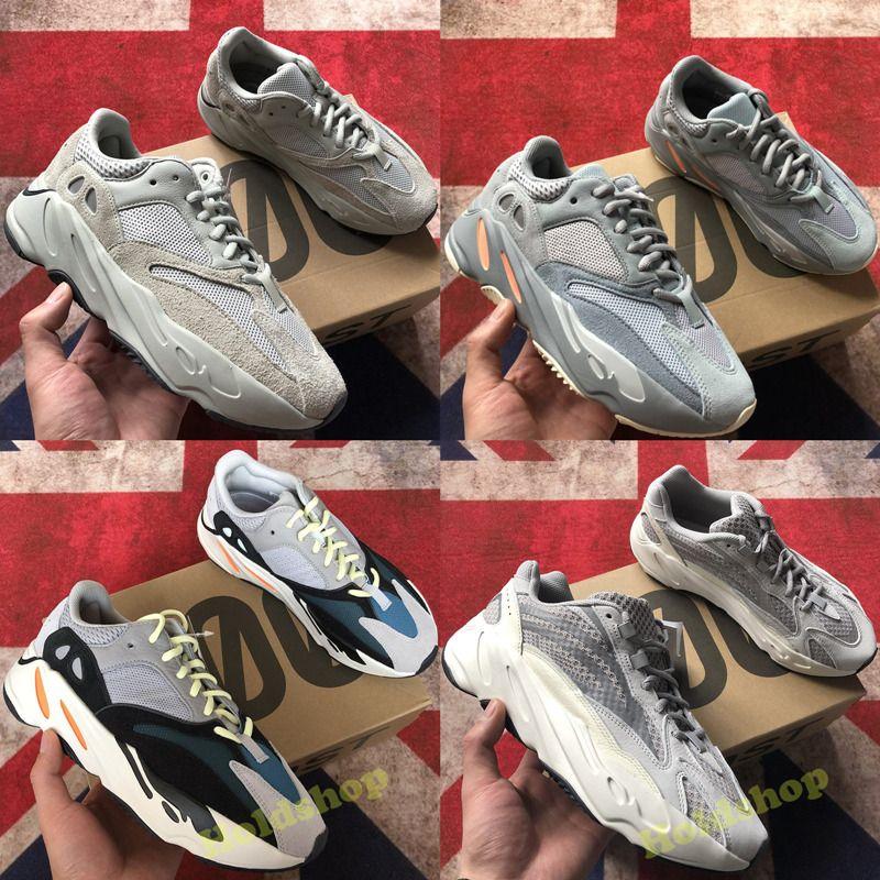 7581c583601e3 Großhandel 2019 Mit Box Adidas Yeezy Boost 700 Wave Runner Mauve ...