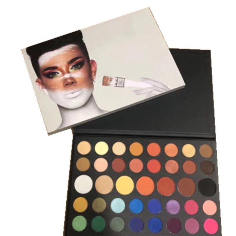 New Arrival James Palette Eyeshadow Makeup Eye Shadow Inner Artist Pallete Dhl Shipping James