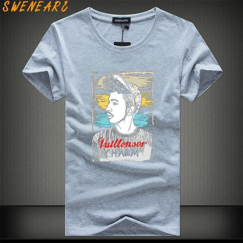 ffdd6beb49c3 2019 Summer New Casual Short Sleeve O Neck Letter Printed Cotton T Shirt  Men Brand White Black Tee Shirt Mens Tshirt Camisetas Humor T Shirts Funky T  Shirt ...
