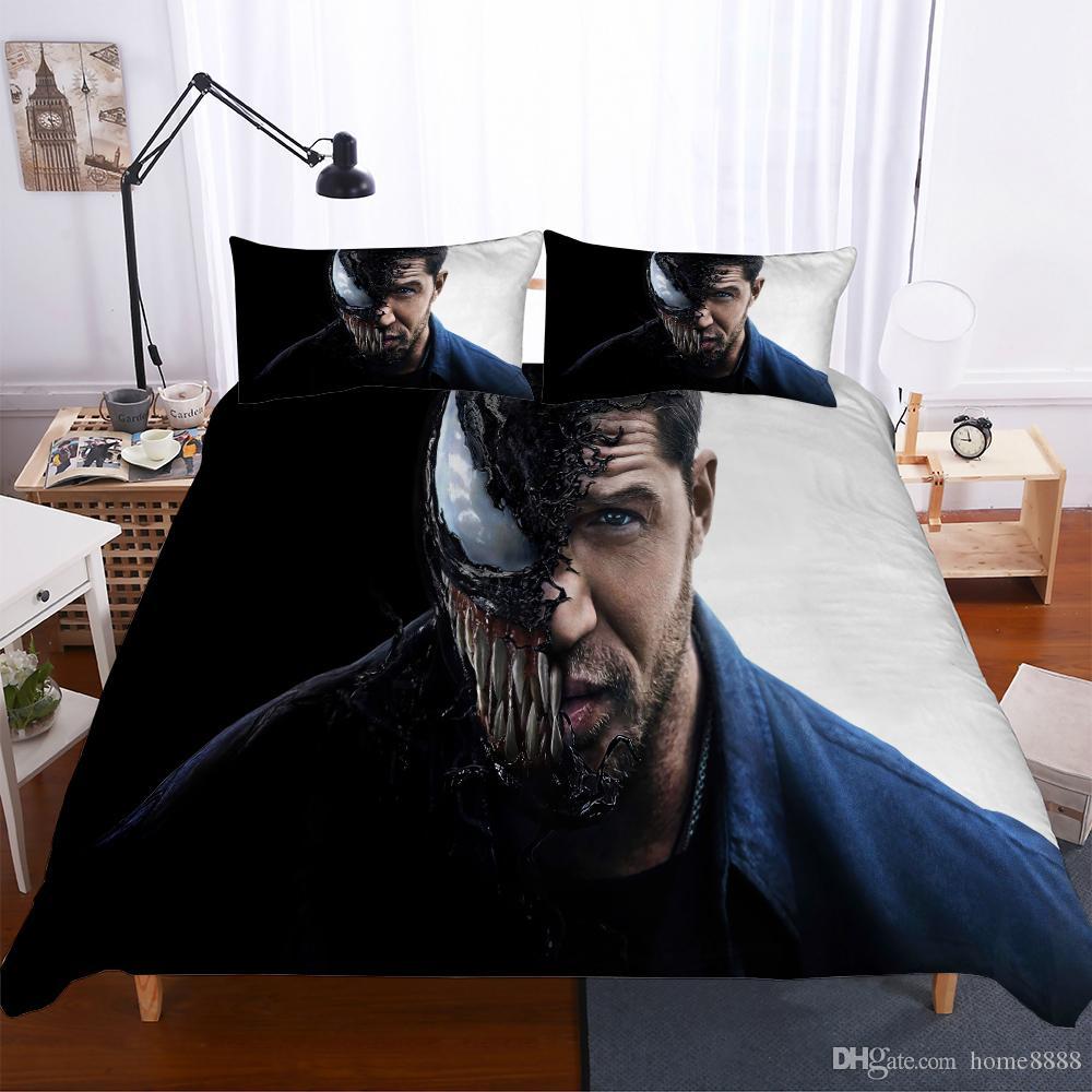 Großhandel 2018 Neue Bettwäsche Polyester Material Marvel Theme