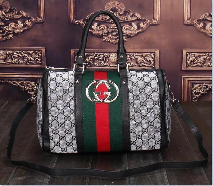 53c05706a84a GUCCI Fashion Women Bags Lady Leather Handbags Wallet Shoulder Bag ...