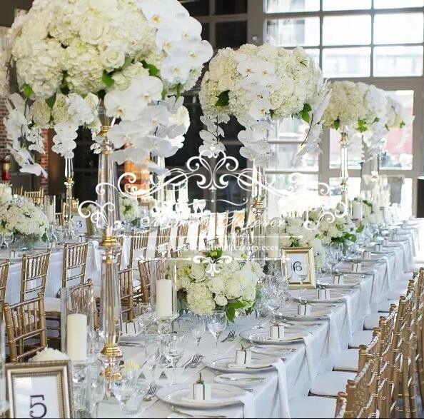 Wedding Decoration Pillars Crystal Flower Stand Marraige Decorative