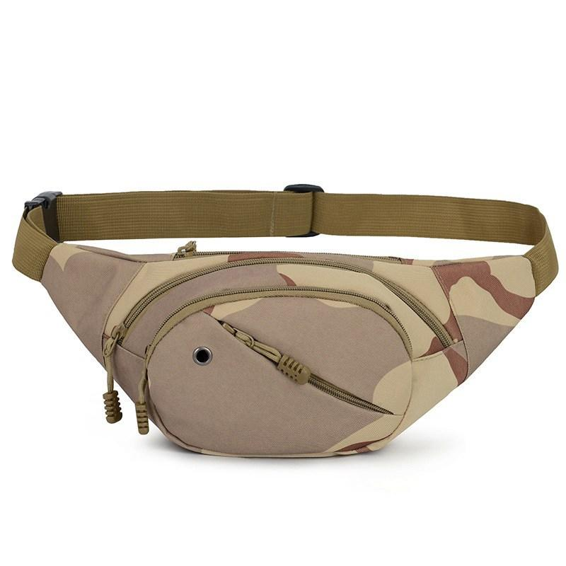2019 Tactical Canvas Cycling Waist Fanny Pack Belt Bag Hip Purse Mens Women  Hiking Running Traveling Daily Life Sports Bag From Marchnice 13e2a205b0699