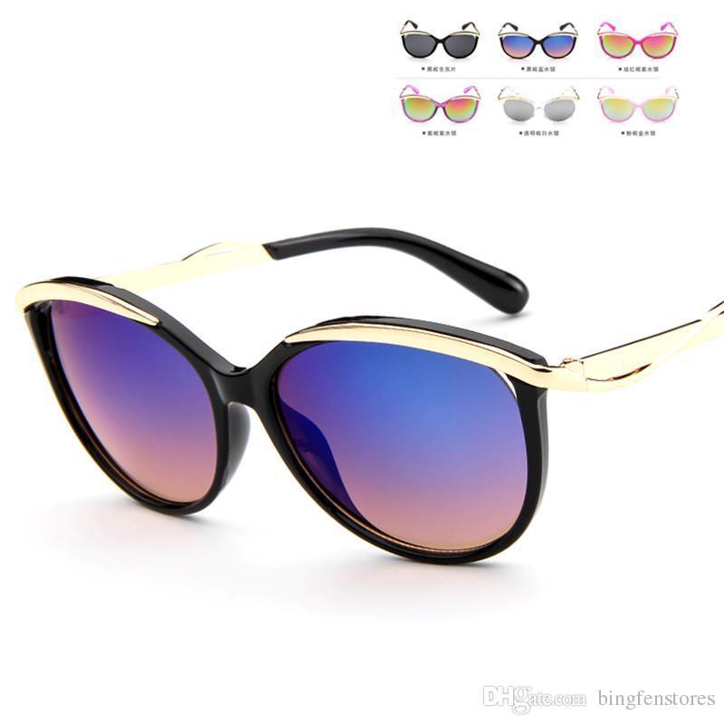 65f0c23189ba8 Compre 2018 Nova Moda Crianças Crianças Óculos De Sol Meninos ...