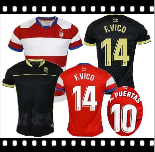 449895bae BEST 2018 2019 Granada CF Soccer Jerseys 18 19 Granada PUERTAS ...