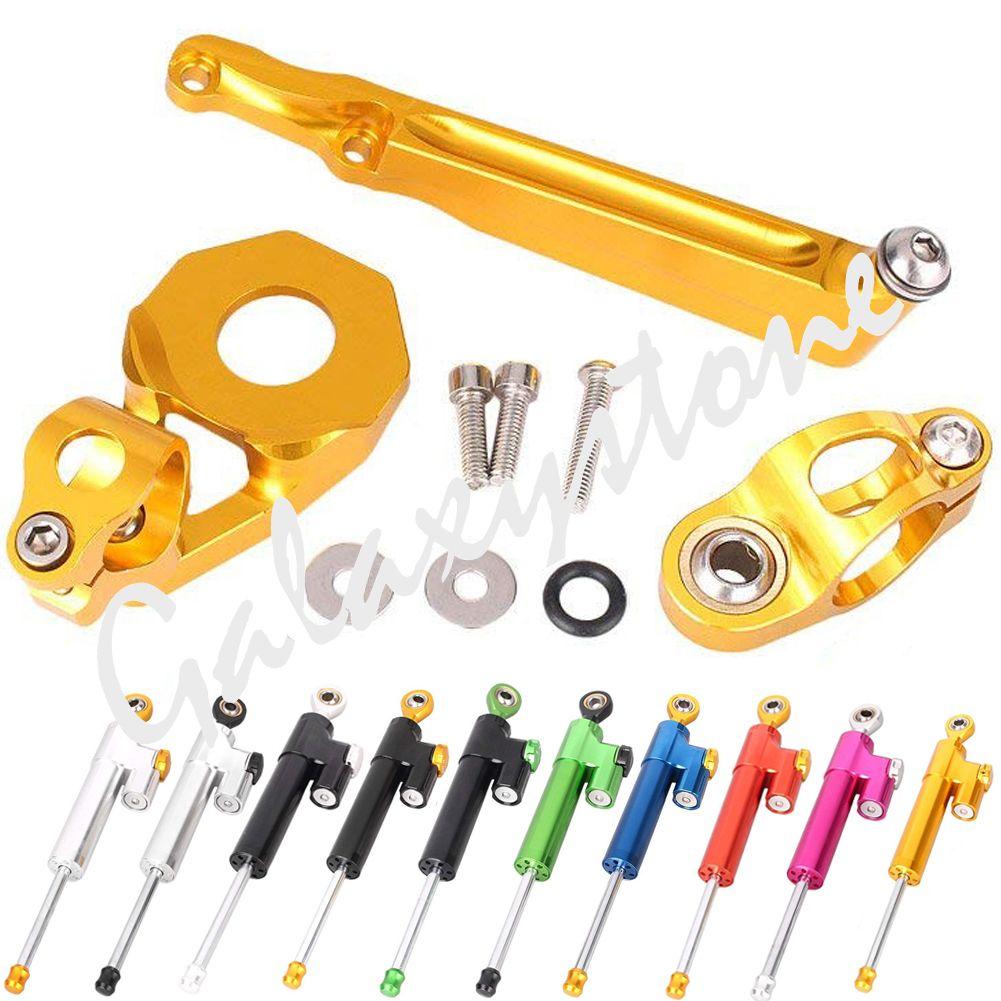 Motorcycle Steering Damper Stabilizer Bracket For Honda Cbr600rr 2005 2006 05 06