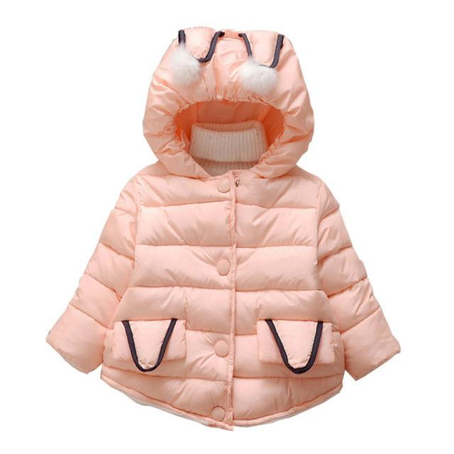 d397b8d31 Quality Baby Girl Winter Jackets Kids Cartoon Thick Warm Down Parkas ...