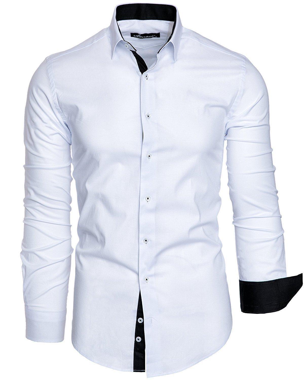 393b71ecfe554 Acheter Hommes Shirt 2019 Mâle De Haute Qualité À Manches Longues Chemises  Casual Slim Fit Noir Homme Robe Chemises Plus La Taille 4xl De $31.17 Du  Jikai02 ...