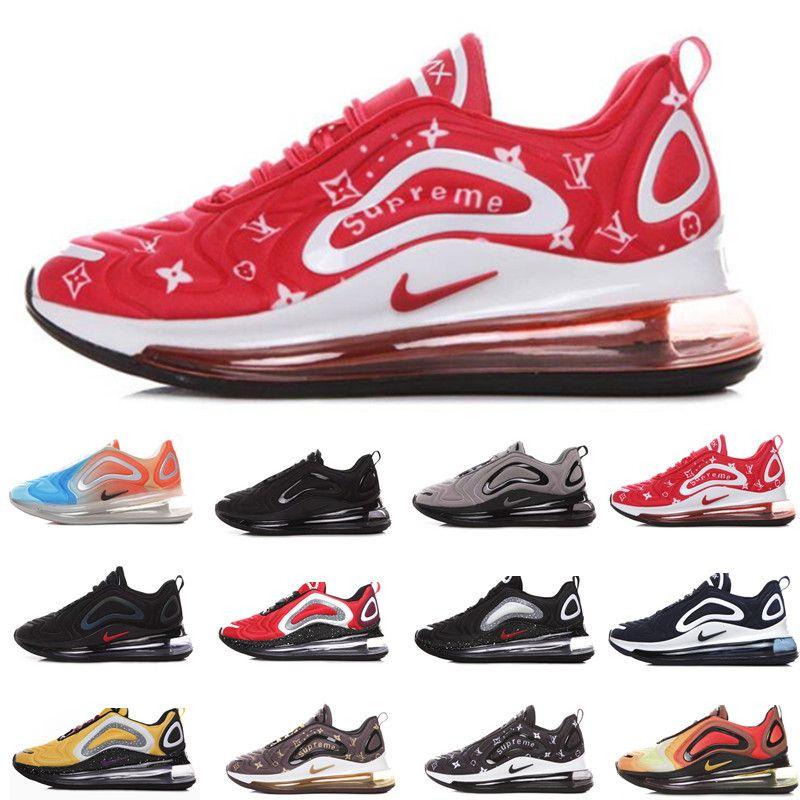 Compre Nike Air Max Airmax 720 Vapormax Barato 720 Niños Zapatillas De Deporte Para Niños Zapatillas De Deporte Al Aire Libre Niño Niña Entrenador
