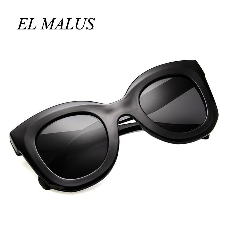a94aa1430f9 EL MALUSRetro Sunglasses Women Square Frame Red Leopard Shades Brand  Designer Female Sexy Ladies Sun Glasses Gafas De Sol Online with   19.24 Piece on ...