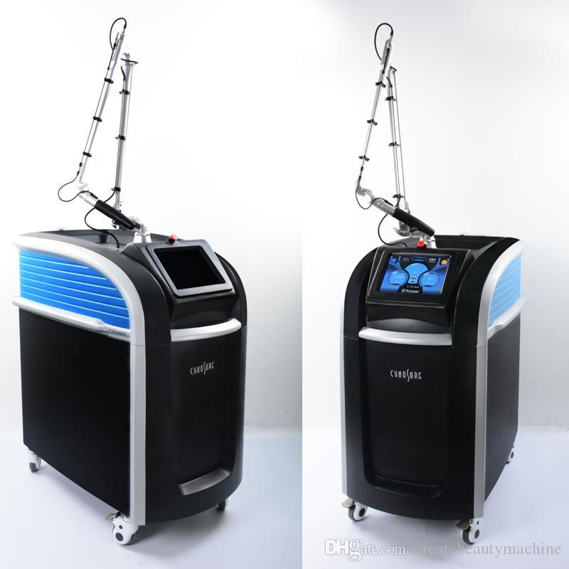 pico Laser QSwitch nd YAG- Laser Tätowierung dunkle Hautflecken entfernen picosure Sommersprosse entfernen Honeycomb Laser 755 Speckle-Entfernungsmaschine