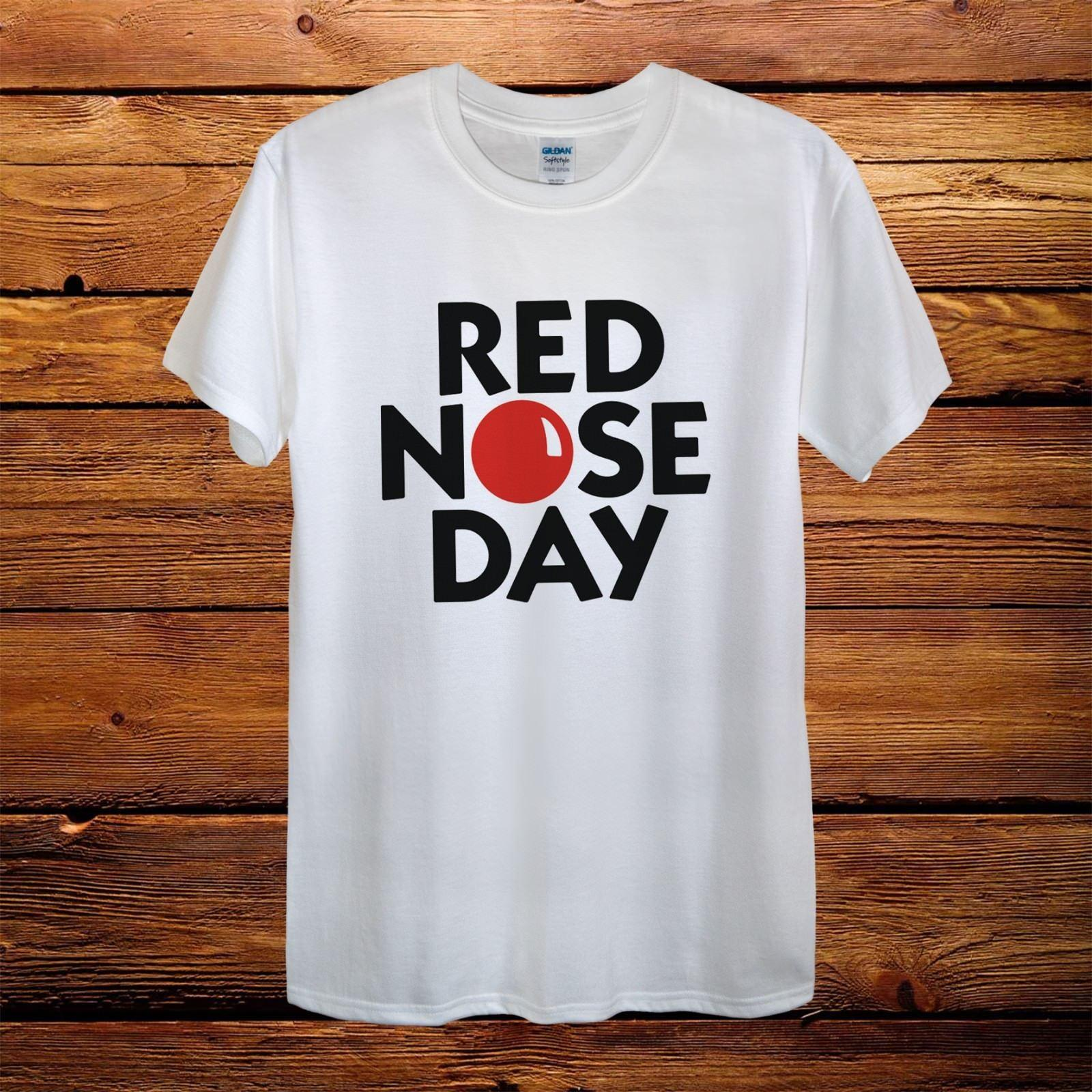 5d968ef4208 Red Nose Day Comic Relief 2018 Top Design T Shirt Short Sleeve Plus Size T  Shirt Colour Jersey Print T Shirt Jersey Print T Shirt Canada 2019 From  Shutcup