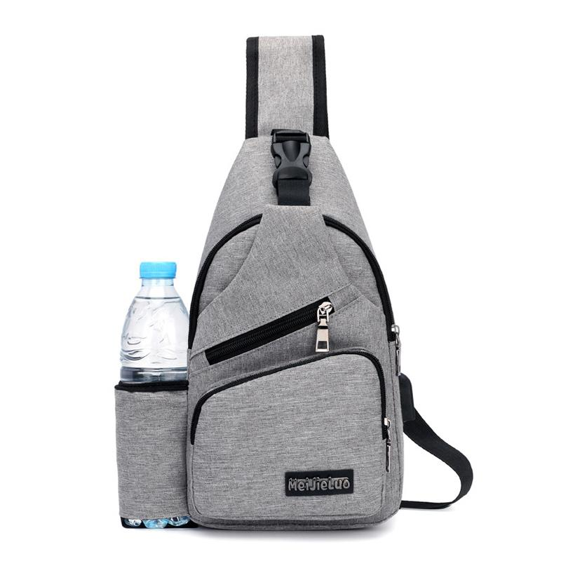 Casual Men S Canvas Chest Backpack With Usb Solid Male Chest Back Pack Small  Crossbody Bags Sling Single Man Shoulder Bag Pt1279 Hunting Backpacks  Gregory ... baf6fcdb65cd6