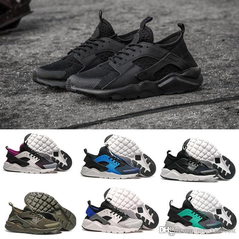 3858ccb50f8 2017 Huarache 4 ID Custom Breathe Running Shoes For Men Women