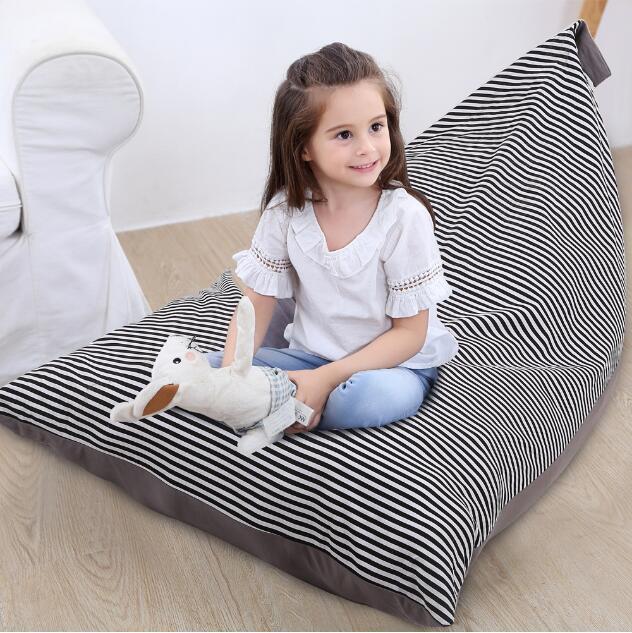 2019 Children Bean Bags Stripe Storage Bag Kids Stuffed Clothing Storage Bag  Plush Toy Bags Soft Baby Chair CCA10800 From B2b_life, $13.87 | DHgate.Com