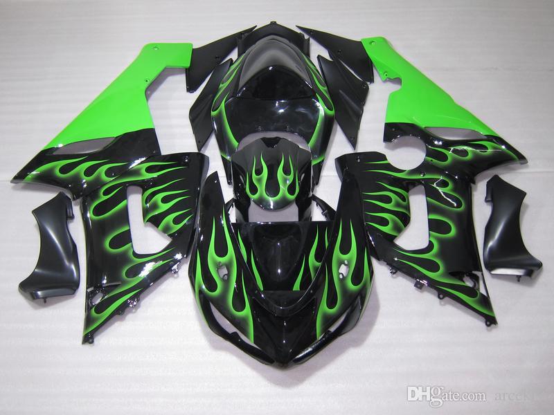 New Abs Fairings Kits Fit For Kawasaki Ninja 636 Zx 6r Zx6r 05 06