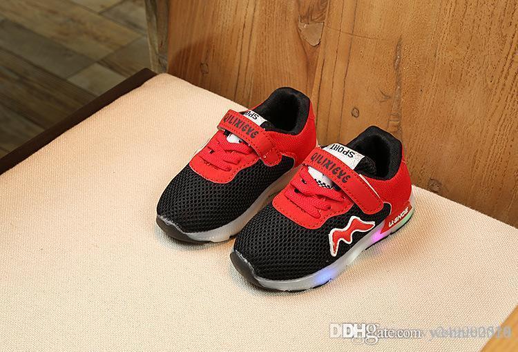 Men's Vulcanize Shoes Men's Shoes Couples With Led Light Casual Shoes Colorful Flash Shoes Breathable Sports Shoes Trend Trend Sports Shoes#g9