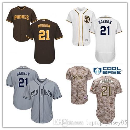 the best attitude 2390e f94f6 2018 San Diego Padres Jerseys #21 Brandon Morrow Jerseys  men#WOMEN#YOUTH#Men's Baseball Jersey Majestic Stitched Professional  sportswear