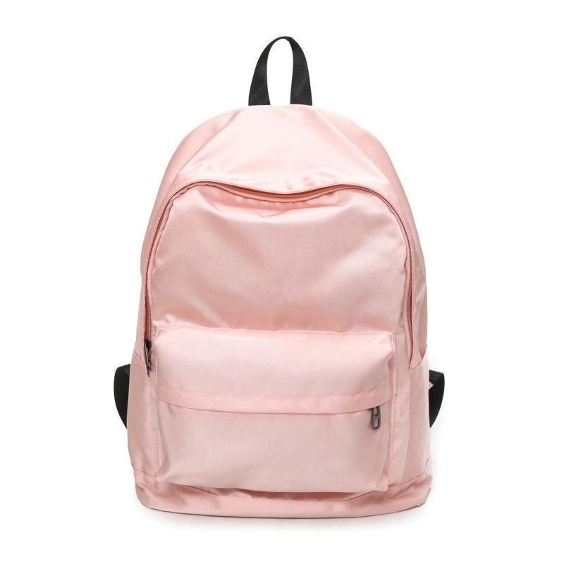 4a7995d0d8 Solid Color Backpacks Leisure Oxford Women Knapsack School Waterproof  Rucksack Large Size Student Bag Casual Travel Online with  42.87 Piece on  Fishmen08 s ...