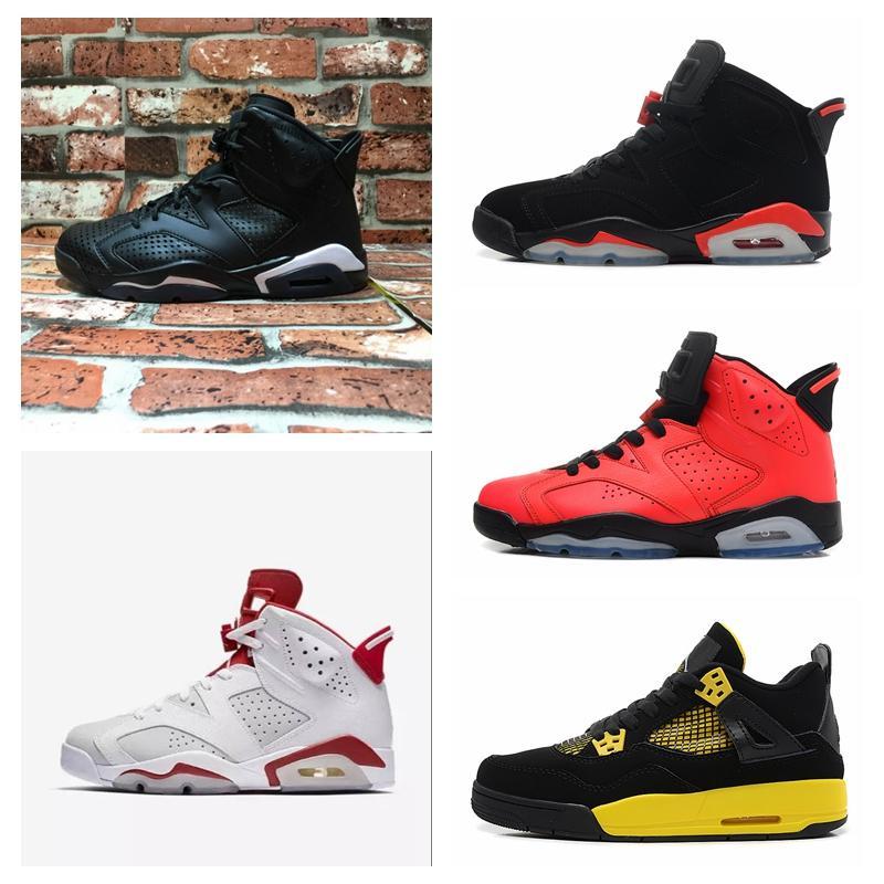 Nike Air Jordan Original AJ AJ6 AJ6S caliente barato Hombres Mujeres Deportes al aire libre zapatos 6 Retro High MID OG 6S J Diseñador de lujo de