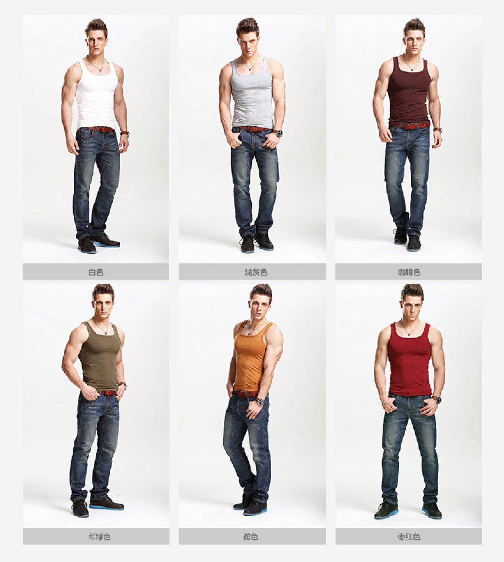 ad3cfeed18 2019 New Style Men s Clothing Fishnet Breathable Mens Vest Slim Fit T-shirt  Fashion Short Sleeve Tshirts Collar Designer T Shirts Underwear Men s  Underwear ...