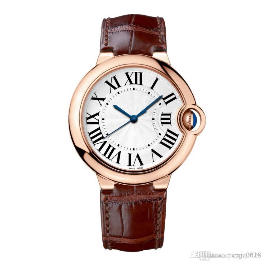 2019 Top Classical brand model fashion Style High quality Women Wristwatch leather Luxury lady watch Female Table Wholesale unisex clock