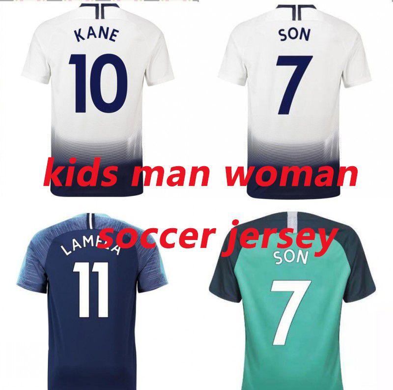 1e1f7308d436 2019 2019 New Style Man And Woman Wear Kids Designer Soccer Jerseys KANE  ERIKSEN Maillot De Foot Football Jersey From Redhouse1966