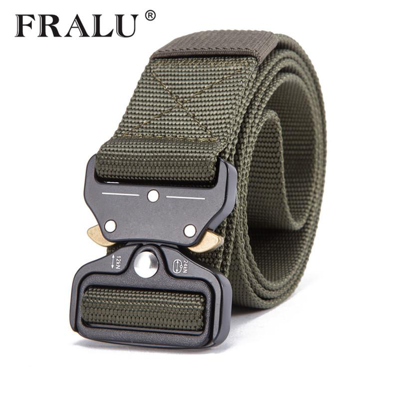 wholesale Military Equipment Knock Off Army Belt Men's Heavy Duty US Soldier Combat Tactical Belts Sturdy 100% Nylon Waistband